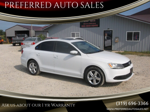 2014 Volkswagen Jetta for sale at PREFERRED AUTO SALES in Lockridge IA