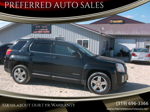 2012 GMC Terrain for sale at PREFERRED AUTO SALES in Lockridge IA