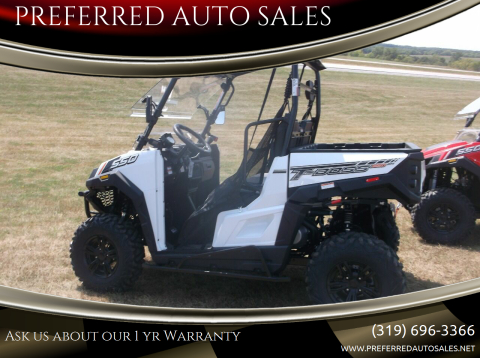 2020 Massimo T BOSS 550 for sale at PREFERRED AUTO SALES in Lockridge IA