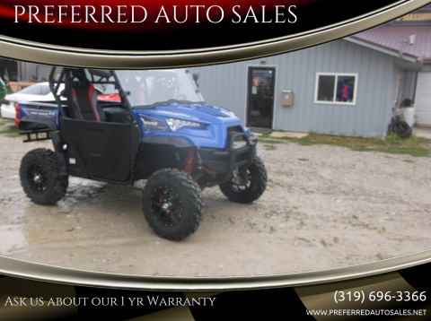 2020 Massimo ODES DOMINATOR X2 1000 LTZ for sale at PREFERRED AUTO SALES in Lockridge IA