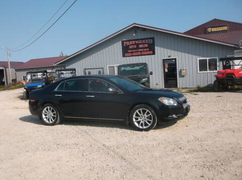 2012 Chevrolet Malibu for sale at PREFERRED AUTO SALES in Lockridge IA