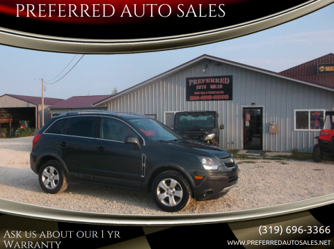 2015 Chevrolet Captiva Sport for sale at PREFERRED AUTO SALES in Lockridge IA