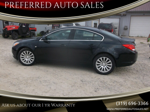 2011 Buick Regal for sale at PREFERRED AUTO SALES in Lockridge IA