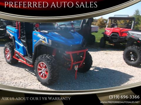 2020 Massimo T BOSS 750 for sale at PREFERRED AUTO SALES in Lockridge IA
