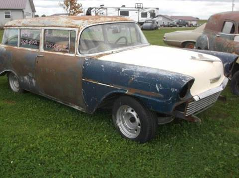 1956 Chevrolet 2 DR WAGON for sale at PREFERRED AUTO SALES in Lockridge IA