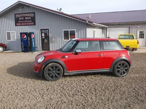 2007 MINI Cooper for sale at PREFERRED AUTO SALES in Lockridge IA