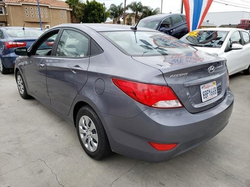 2017 Hyundai Accent Se Mpg >> 2017 Hyundai Accent SE SEDAN 4D In Hawthorne CA - Car