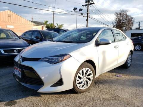 2017 Toyota Corolla for sale at Car World Automotive in Hawthorne CA