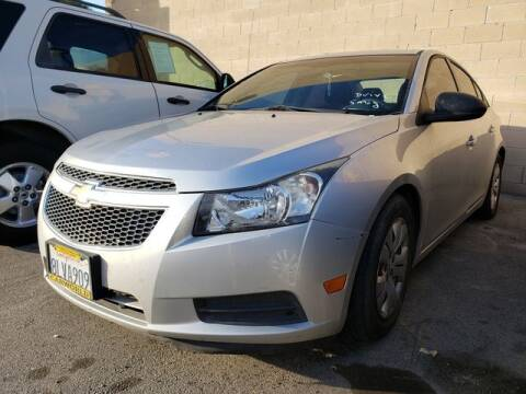2012 Chevrolet Cruze LS for sale at Car World Automotive in Hawthorne CA