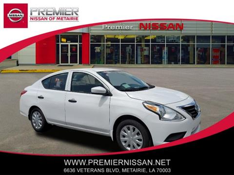 2019 Nissan Versa for sale in Metairie, LA