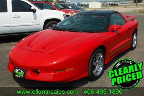 1995 Pontiac Firebird for sale in Helena, MT