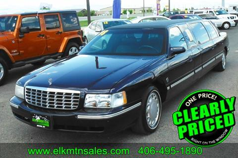 1998 Cadillac LIMOUSINE for sale in Helena, MT