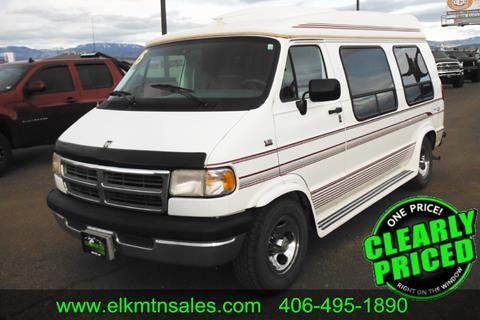 21d5aa774df13f Used 1995 Dodge Ram Van For Sale in Ohio - Carsforsale.com®