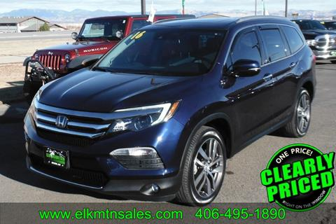 2016 Honda Pilot for sale in Helena, MT