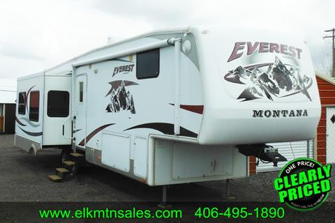 2008 Keystone Everest  for sale in Helena, MT