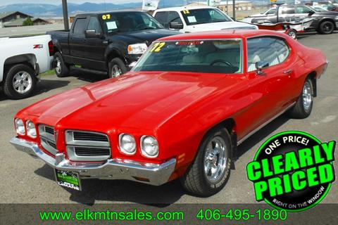 1972 Pontiac Le Mans for sale in Helena, MT