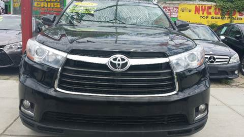 2015 Toyota Highlander for sale in Jamaica NY