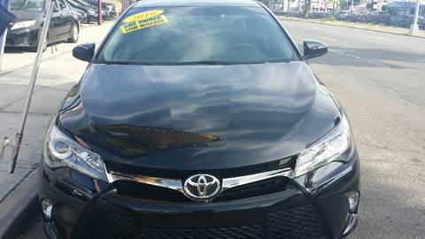2016 Toyota Camry for sale in Jamaica NY