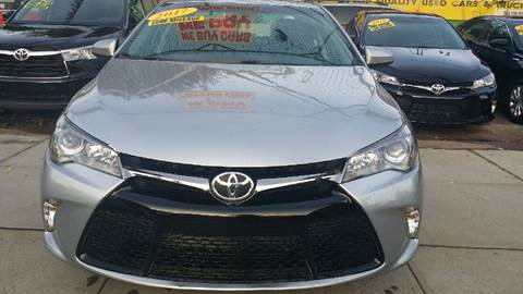 2017 Toyota Camry for sale in Jamaica NY