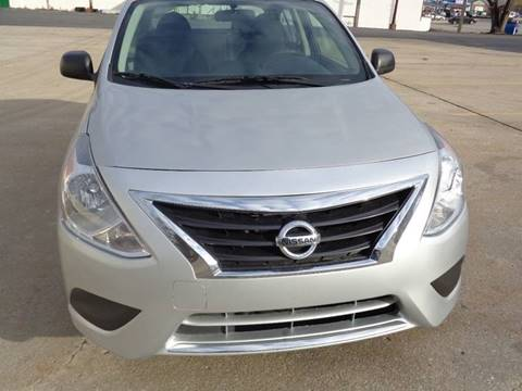 2015 Nissan Versa for sale at Royal Auto Sales KC in Kansas City MO