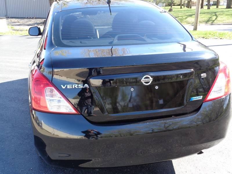 2012 Nissan Versa 1.6 S 4dr Sedan CVT - Kansas City MO