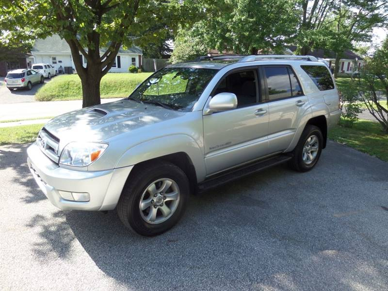 2004 Toyota 4Runner Sport Edition 4WD 4dr SUV   Bloomington IN