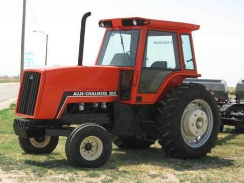 1982 Allis Chalmers 8010 for sale at Bretz Inc in Dighton KS