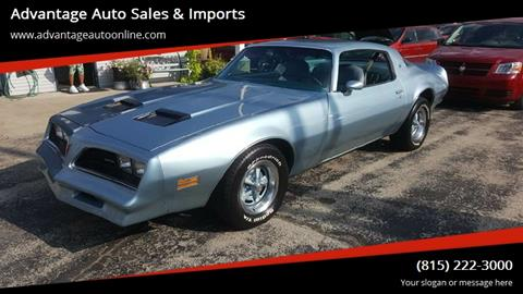 1977 Pontiac Firebird for sale in Lovespark, IL