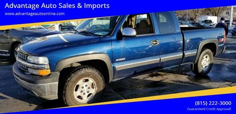 2000 Chevrolet Silverado 1500 for sale at Advantage Auto Sales & Imports Inc in Loves Park IL