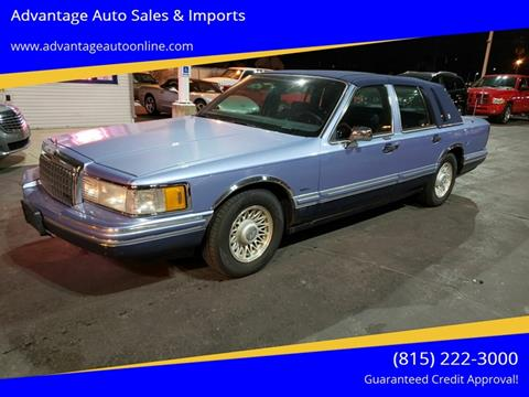 1994 Lincoln Town Car for sale at Advantage Auto Sales & Imports Inc in Loves Park IL