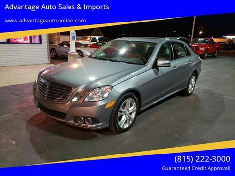 2010 Mercedes-Benz E-Class for sale at Advantage Auto Sales & Imports Inc in Loves Park IL