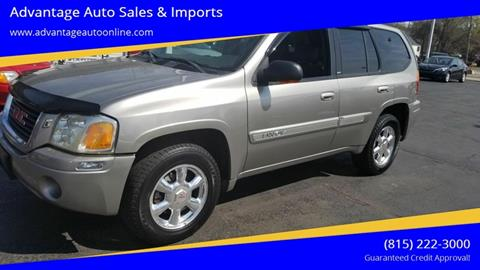 2003 GMC Envoy for sale at Advantage Auto Sales & Imports Inc in Loves Park IL