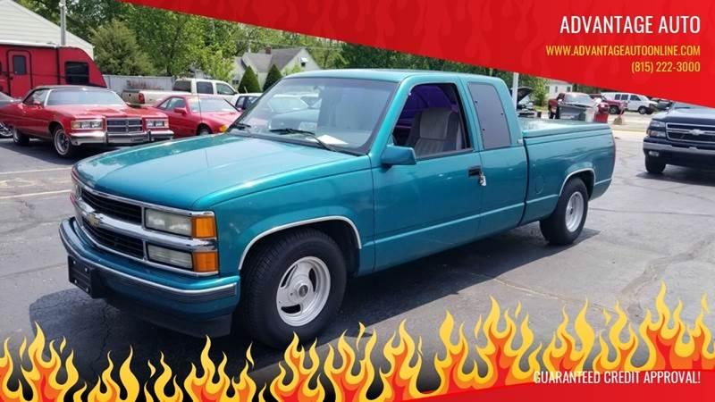 1994 Chevrolet C/K 1500 Series for sale at Advantage Auto Sales & Imports Inc in Loves Park IL