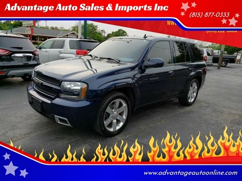 2008 Chevrolet TrailBlazer for sale at Advantage Auto Sales & Imports Inc in Loves Park IL