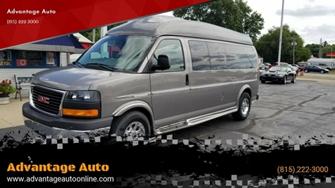 2012 GMC Savana Cargo for sale at Advantage Auto Sales & Imports Inc in Loves Park IL