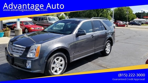 2008 Cadillac SRX for sale at Advantage Auto Sales & Imports Inc in Loves Park IL
