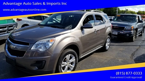 2010 Chevrolet Equinox for sale at Advantage Auto Sales & Imports Inc in Loves Park IL