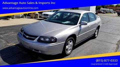 2005 Chevrolet Impala for sale at Advantage Auto Sales & Imports Inc in Loves Park IL