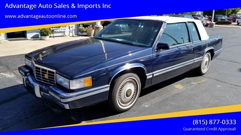 1993 Cadillac DeVille for sale at Advantage Auto Sales & Imports Inc in Loves Park IL