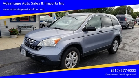 2009 Honda CR-V for sale at Advantage Auto Sales & Imports Inc in Loves Park IL