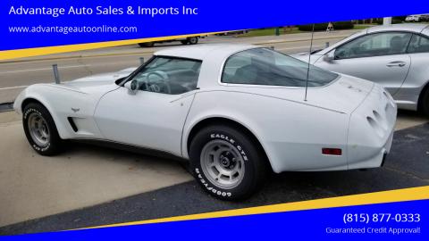 1979 Chevrolet Corvette for sale at Advantage Auto Sales & Imports Inc in Loves Park IL