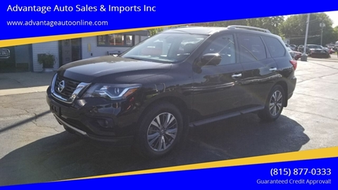 2017 Nissan Pathfinder for sale at Advantage Auto Sales & Imports Inc in Loves Park IL