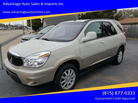 2005 Buick Rendezvous for sale at Advantage Auto Sales & Imports Inc in Loves Park IL