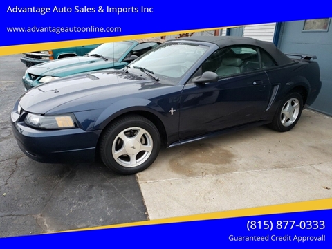 2001 Ford Mustang for sale at Advantage Auto Sales & Imports Inc in Loves Park IL