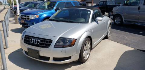 2004 Audi TT for sale at Advantage Auto Sales & Imports Inc in Loves Park IL