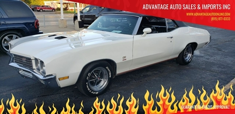 1972 Buick Gran Sport for sale at Advantage Auto Sales & Imports Inc in Loves Park IL