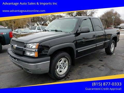2004 Chevrolet Silverado 1500 for sale at Advantage Auto Sales & Imports Inc in Loves Park IL