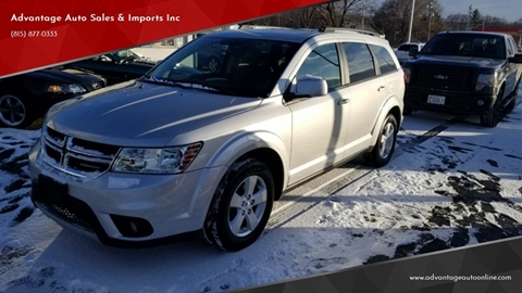 2012 Dodge Journey for sale at Advantage Auto Sales & Imports Inc in Loves Park IL