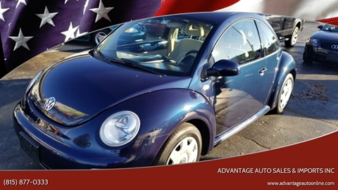 2001 Volkswagen New Beetle for sale at Advantage Auto Sales & Imports Inc in Loves Park IL