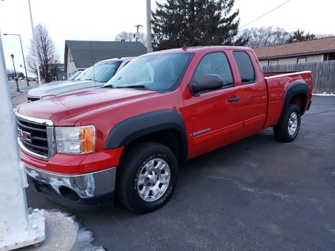 2008 GMC Sierra 1500 for sale at Advantage Auto Sales & Imports Inc in Loves Park IL